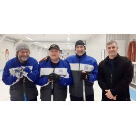 L'équipe de Luc Roy atteint la finale du tournoi senior de Drummondville