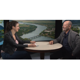 Michel St-Germain en entrevue à l'émission Dans la vallée