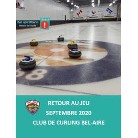 Lignes directrices de retour au jeu – Curling Bel-Aire